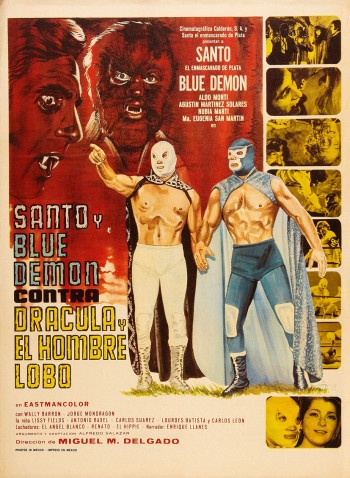 Review: Santo and Blue Demon vs. Dracula and The Wolf Man (1973)