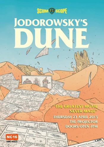 April 2015 Screening – Jodorowsky's Dune