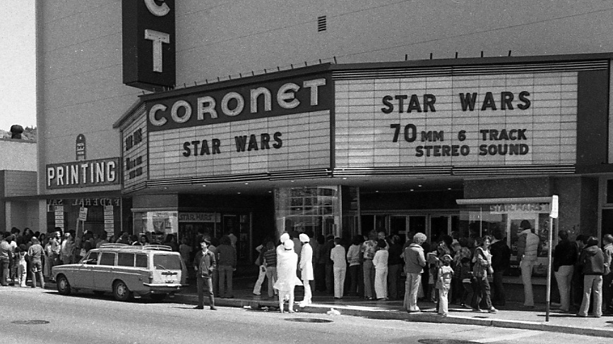 Days of Future Past: Original Star Wars in 70mm with multitrack audio