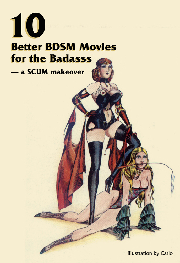 10 Better BDSM Movies for the Badasss – a SCUM makeover