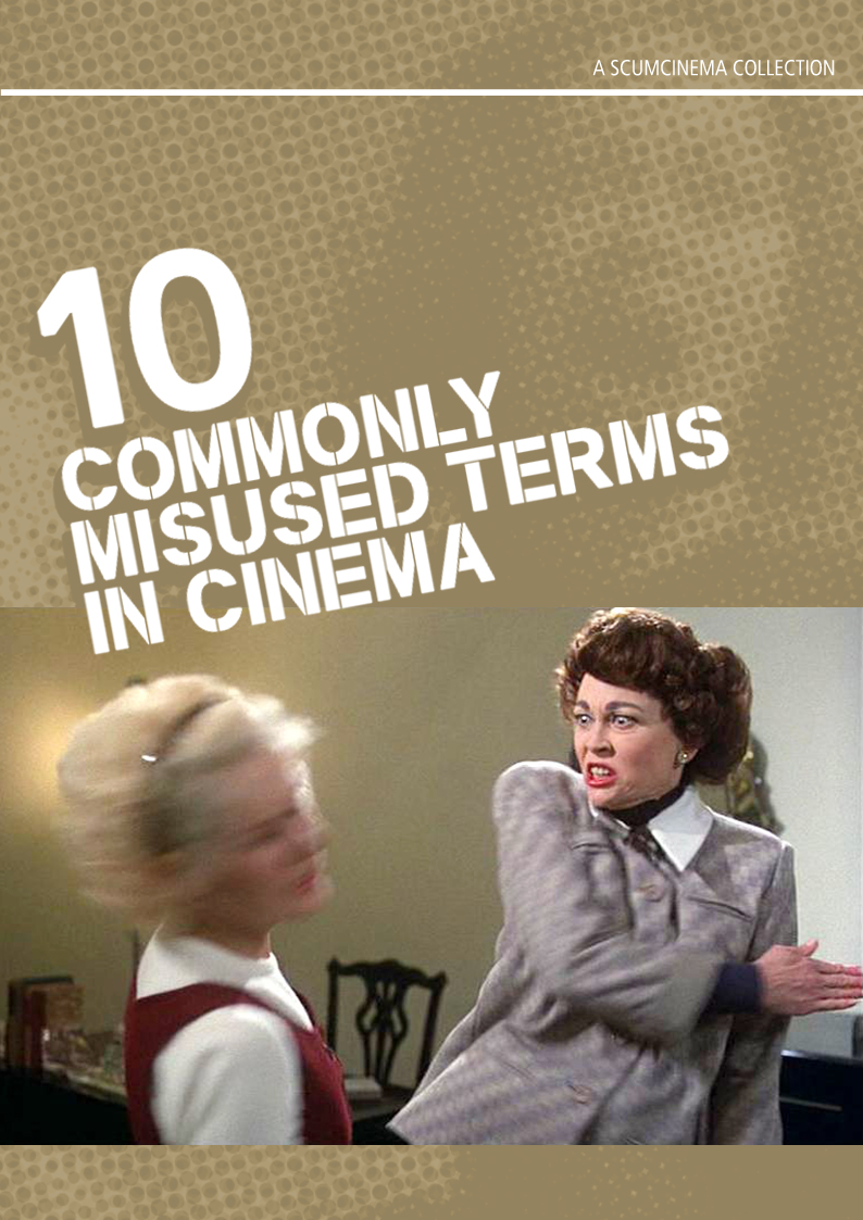 10 Commonly Misused Terms in Cinema