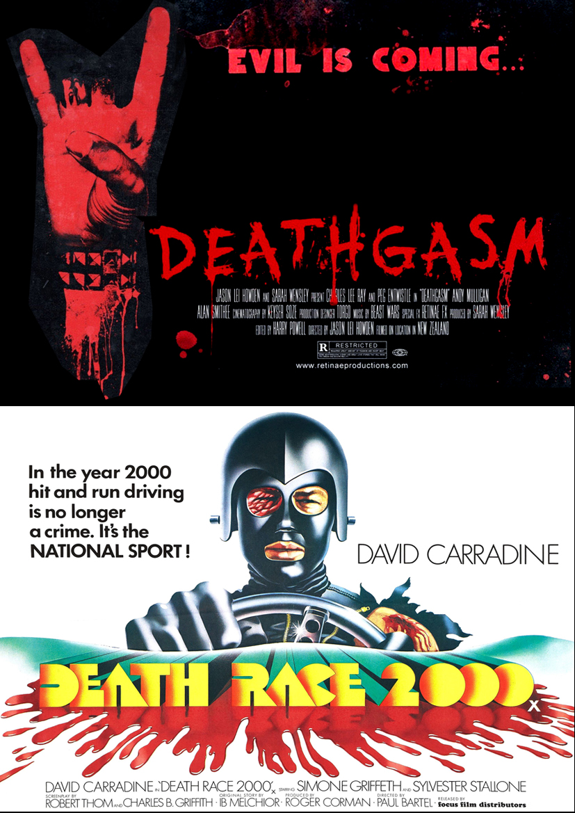 December 2015 Screening: Deathgasm + Death Race 2000