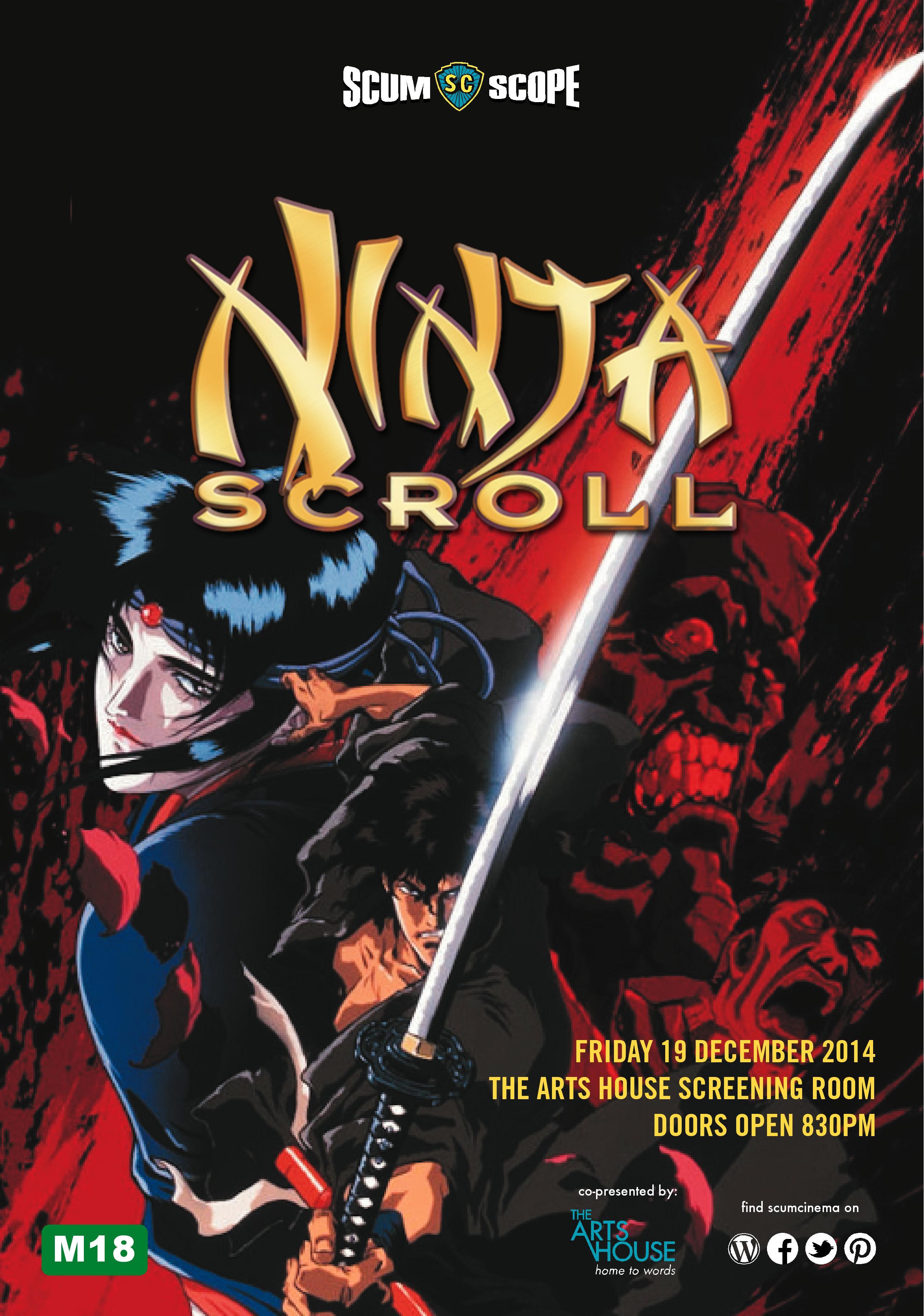December 2014 Screening – Ninja Scroll